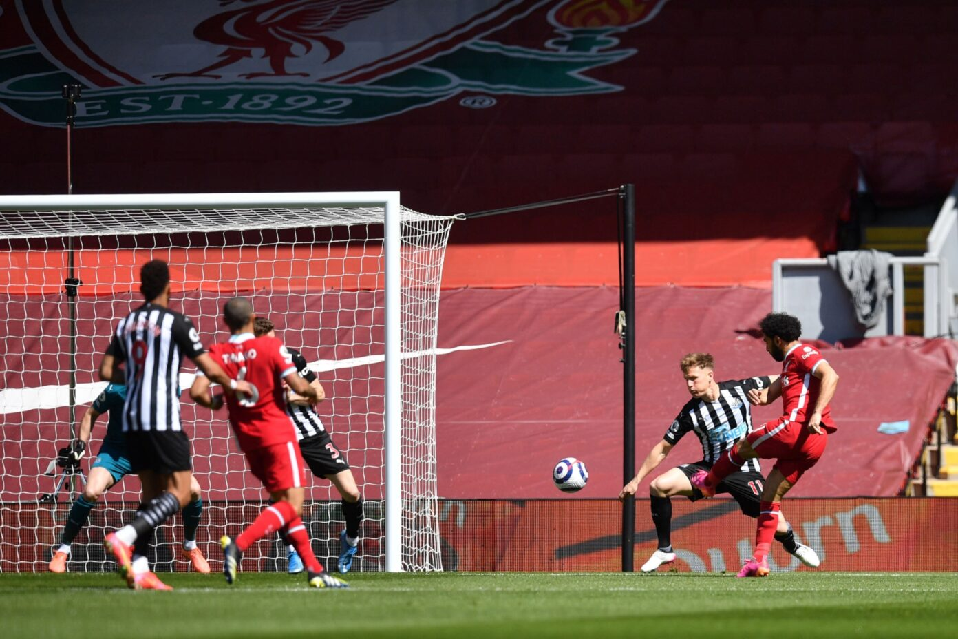 Liverpool 1-1 Newcastle United - Watch the goals and highlights (Video)